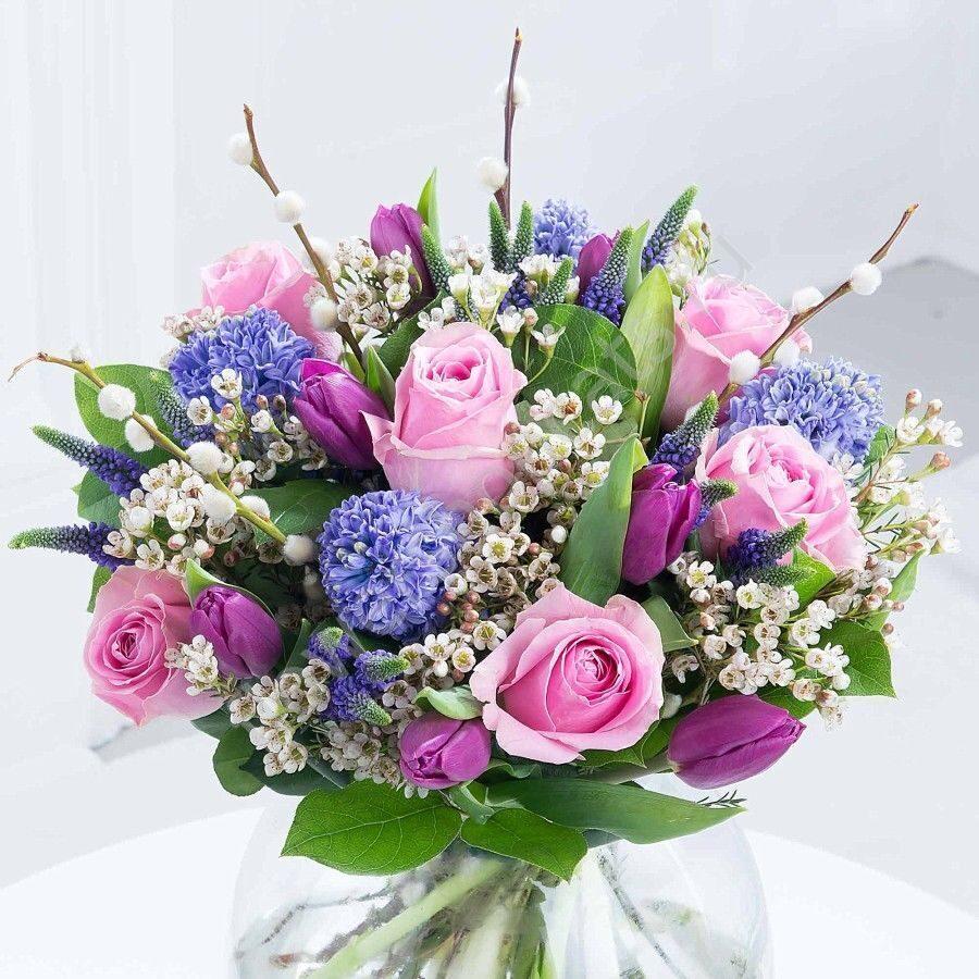 Цветов которые, фото букета весеннего